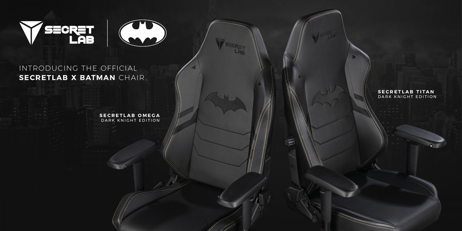 Batman Gets The Secretlab Treatment With New 80th