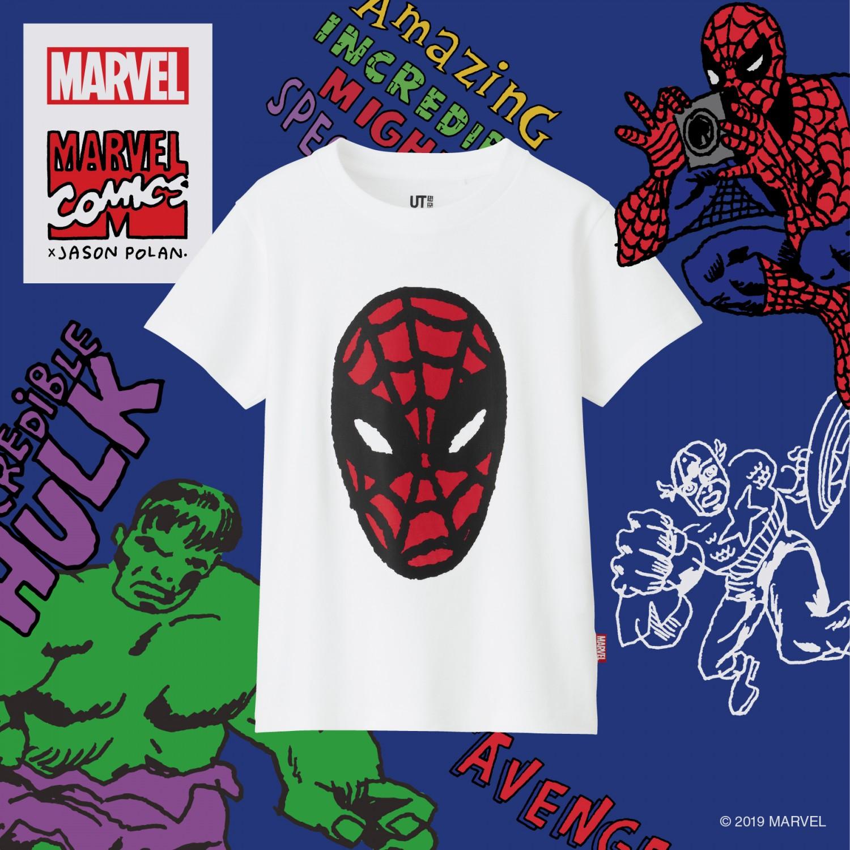 Suit Up For Avengers: Endgame With Uniqlo's Marvel x Jason Polan UT