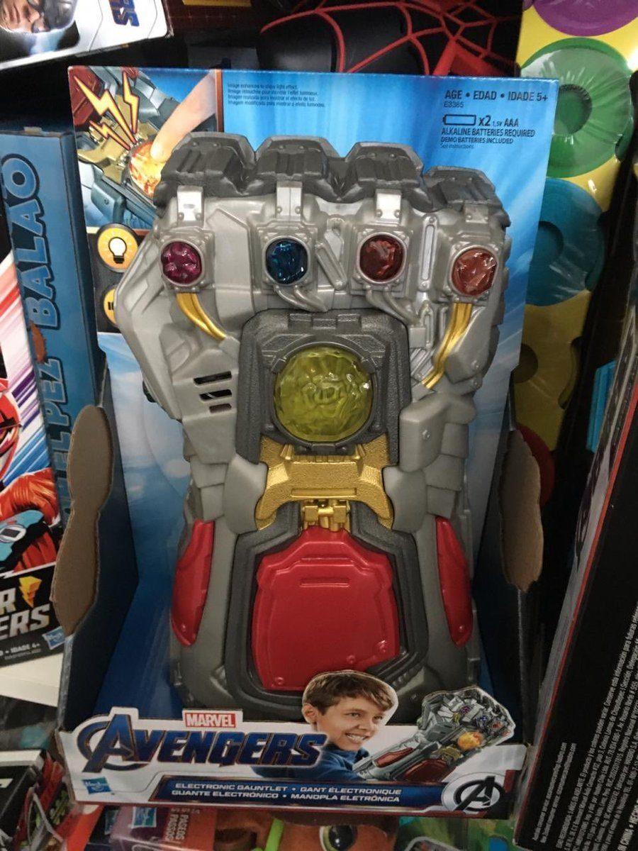 Spoiler Alert: Leaked Hasbro Toy Reveals How The Avengers