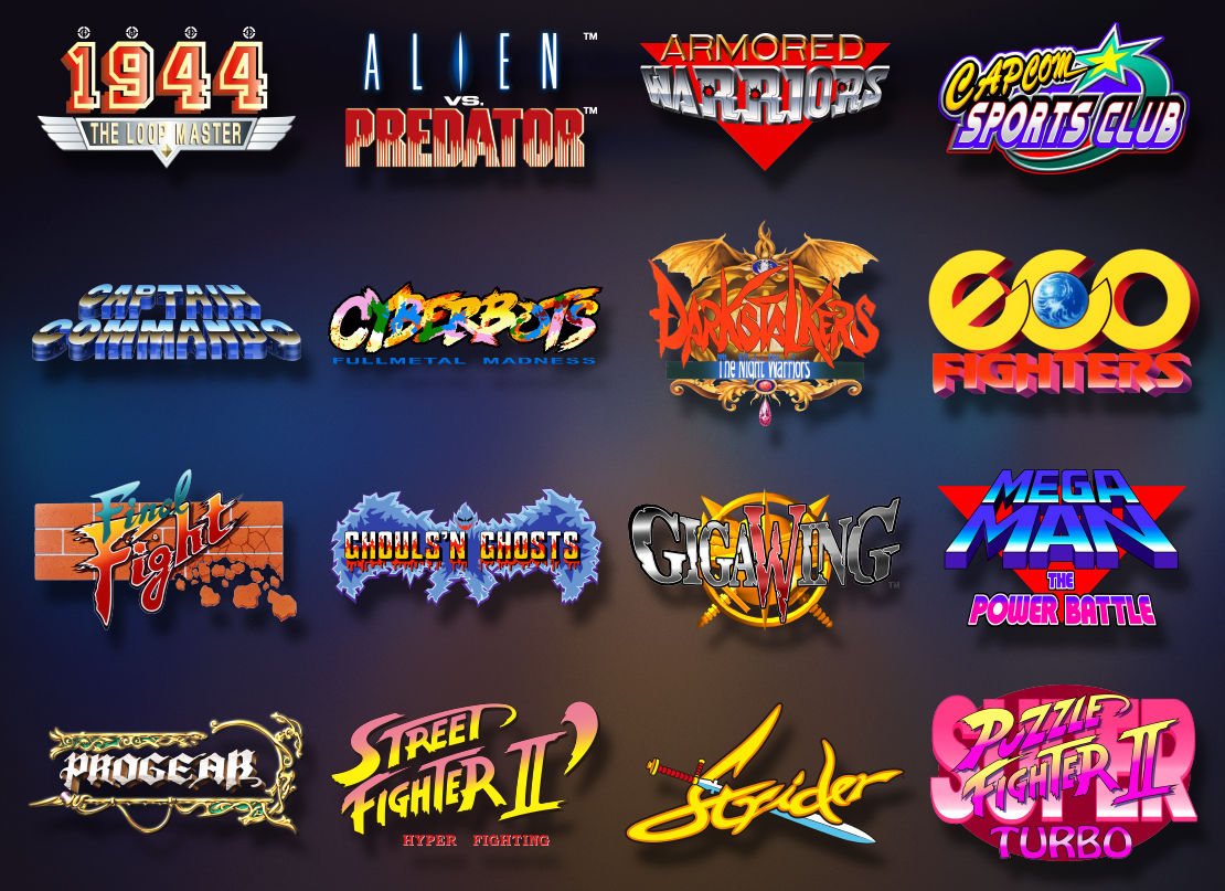 Capcom Home Arcade Mini-Console Includes 16 Games