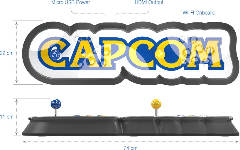 Capcom Home Arcade fully revealed, launching this October in Europe
