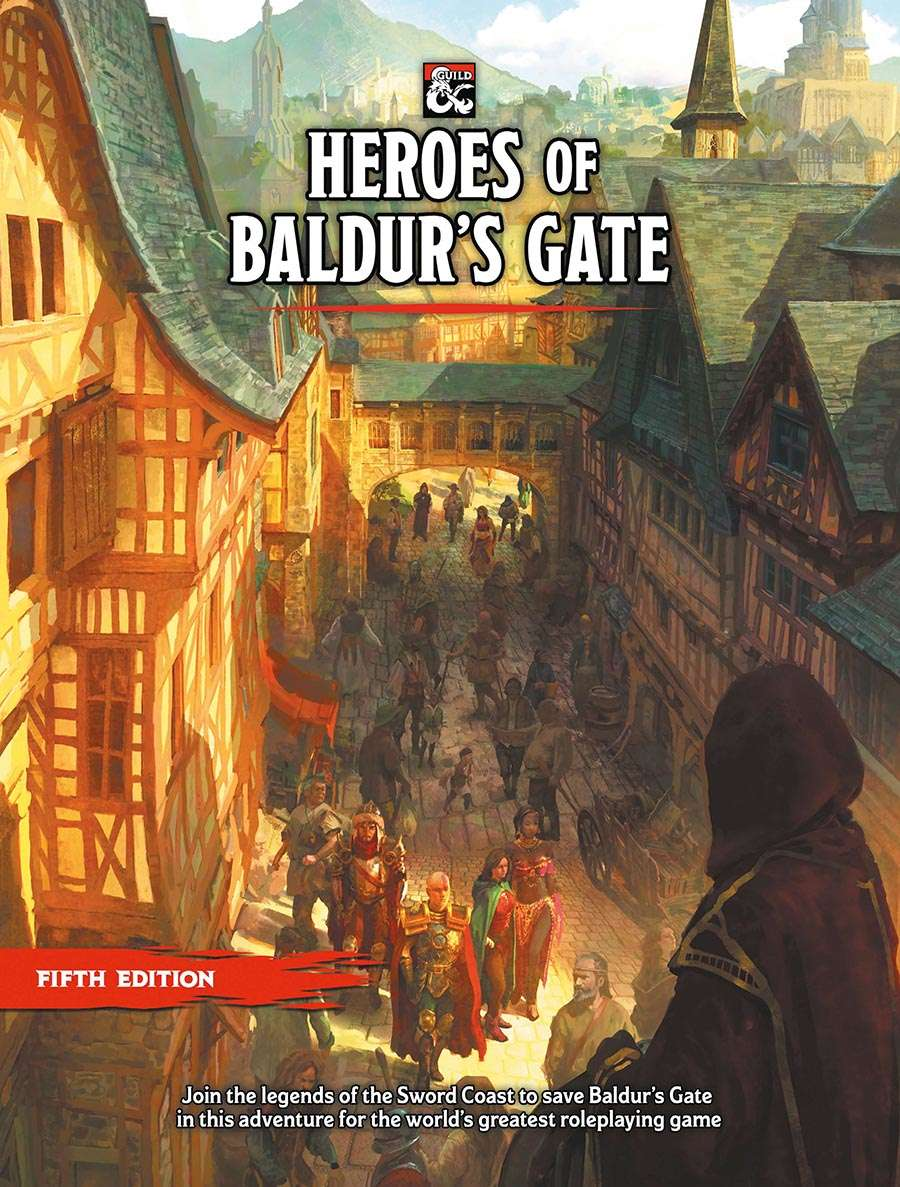 Roll Dice Alongside Minsc & Boo With This New Baldur's Gate D&D