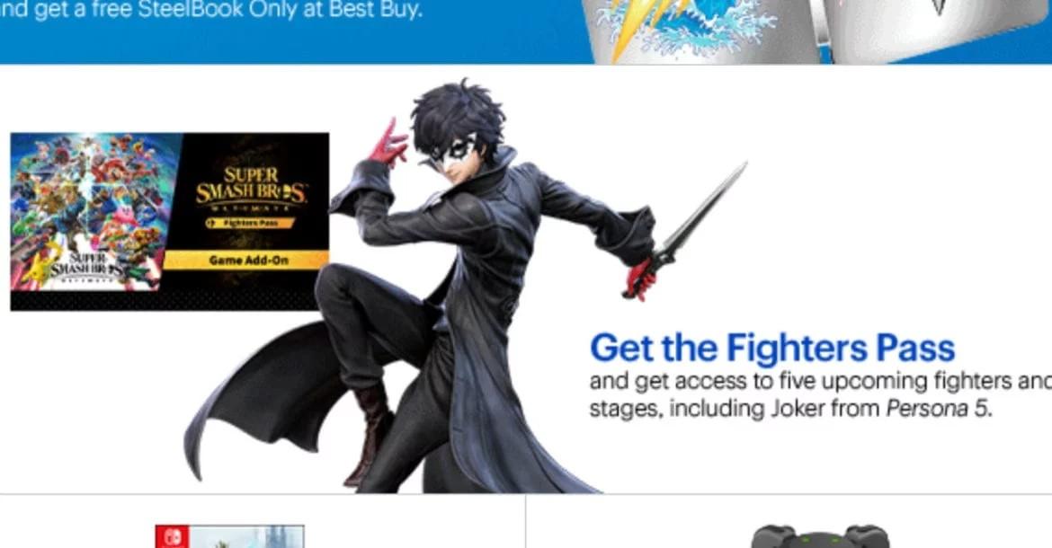 Persona 5 Joker's Design In Super Smash Bros  Ultimate Leaked | Geek