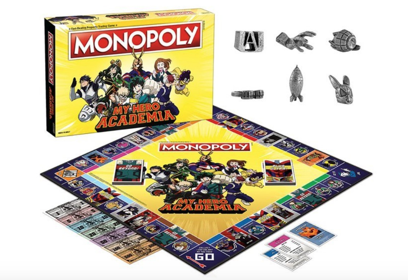 Monopoly Goes Plus Ultra With A New My Hero Academia Edition Geek Culture