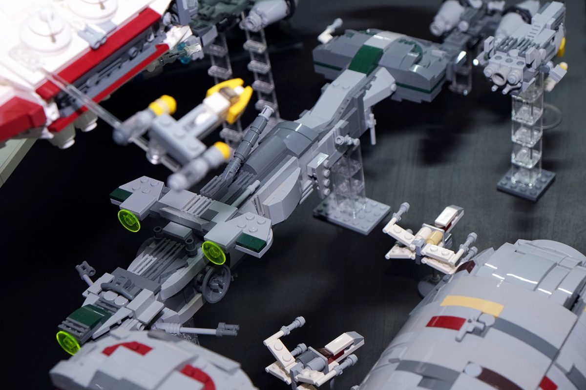 The Force Is Strong With This Group of LEGO Star Wars Fans In