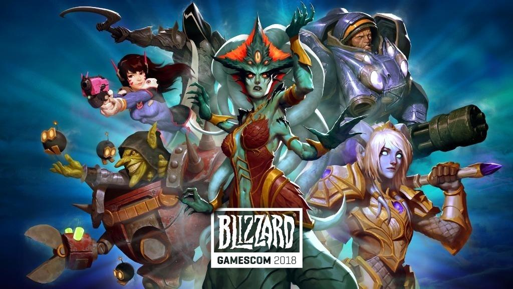 gamescom 2019 blizzard banner