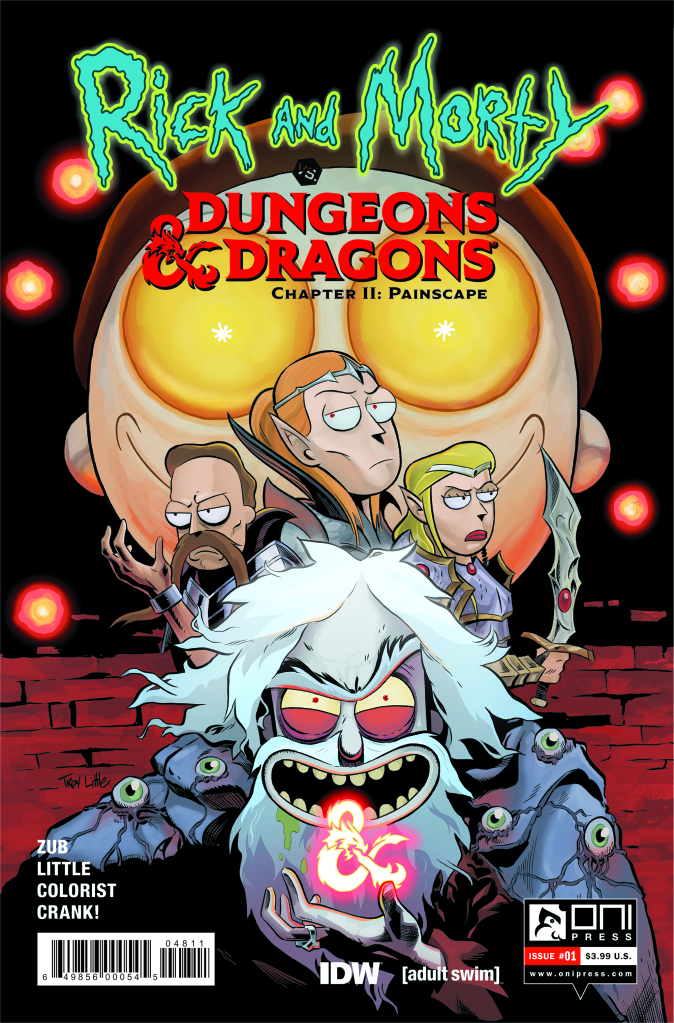 Rick and Morty Will Be Getting An Official D&D Tabletop Game This