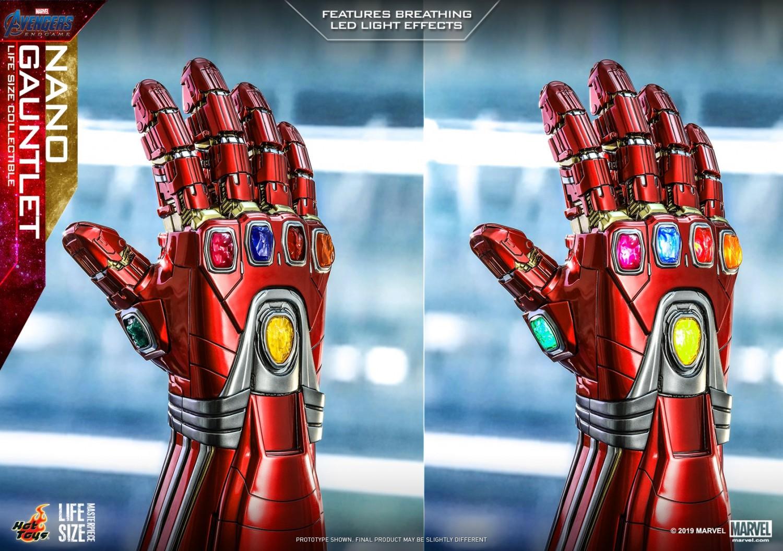 The Hot Toys' Life-Size Avengers: Endgame Nano Gauntlet Was