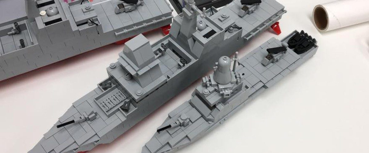 This Guy Has A Kickstarter For Lego Ships From The Singapore Navy