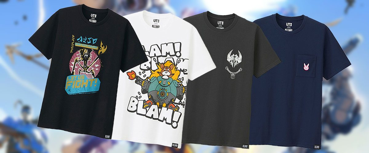 112c11c57 Game On! Uniqlo And Blizzard Team Up Once Again For New T-Shirt Designs