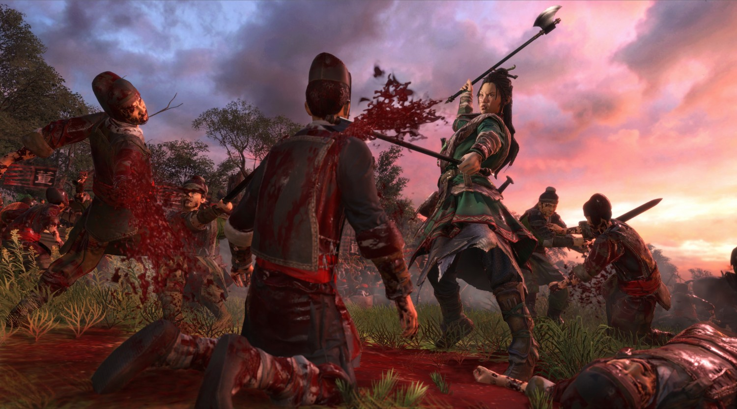 Total War Three Kingdoms Adds Gore, Includes Equine Dismemberment (2)