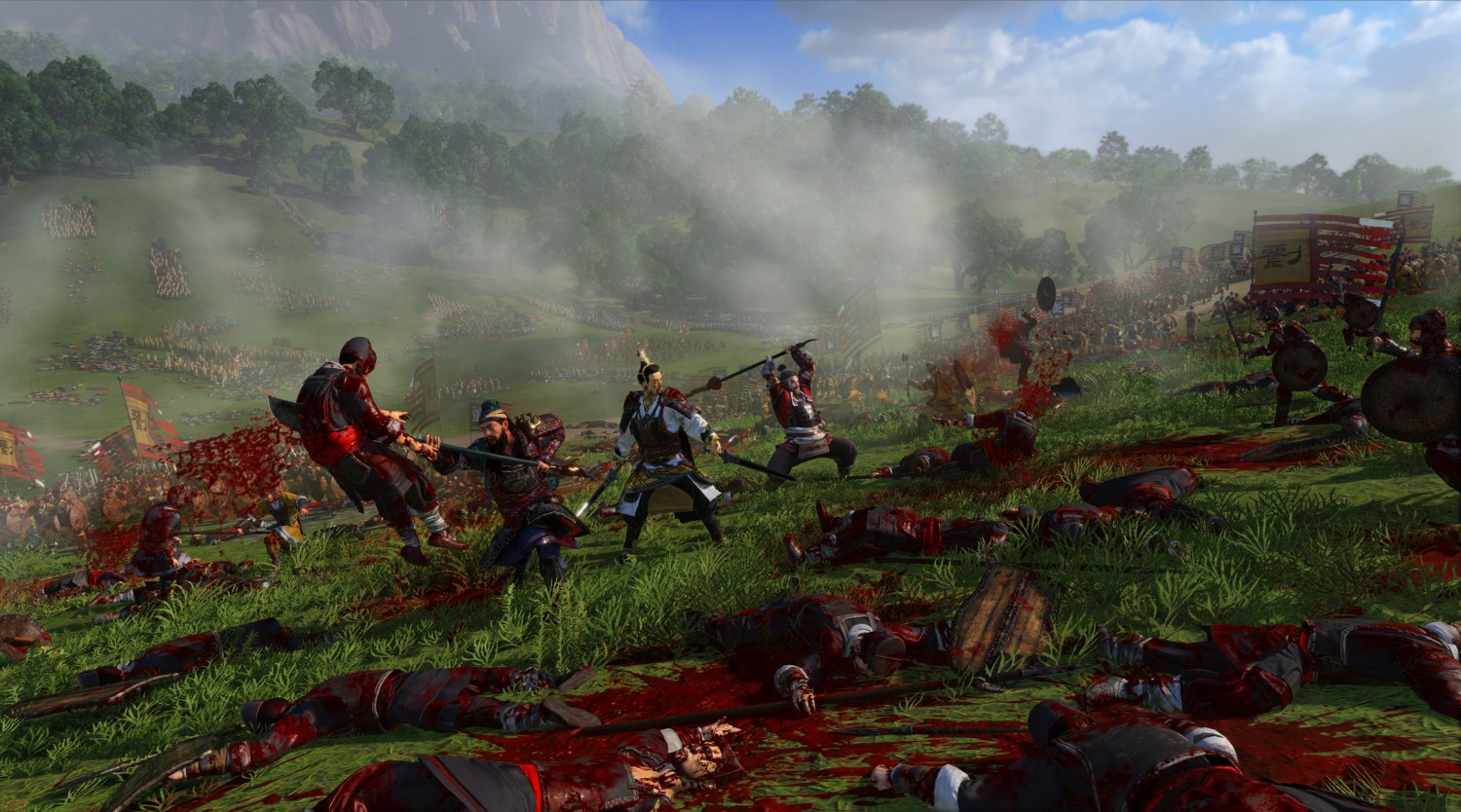 Total War Three Kingdoms Adds Gore, Includes Equine Dismemberment (4)