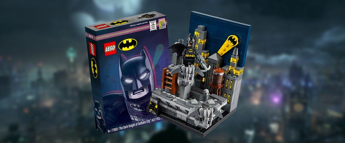 Batman And Gotham City Go Exclusive With New Lego Set 77903 At SDCC