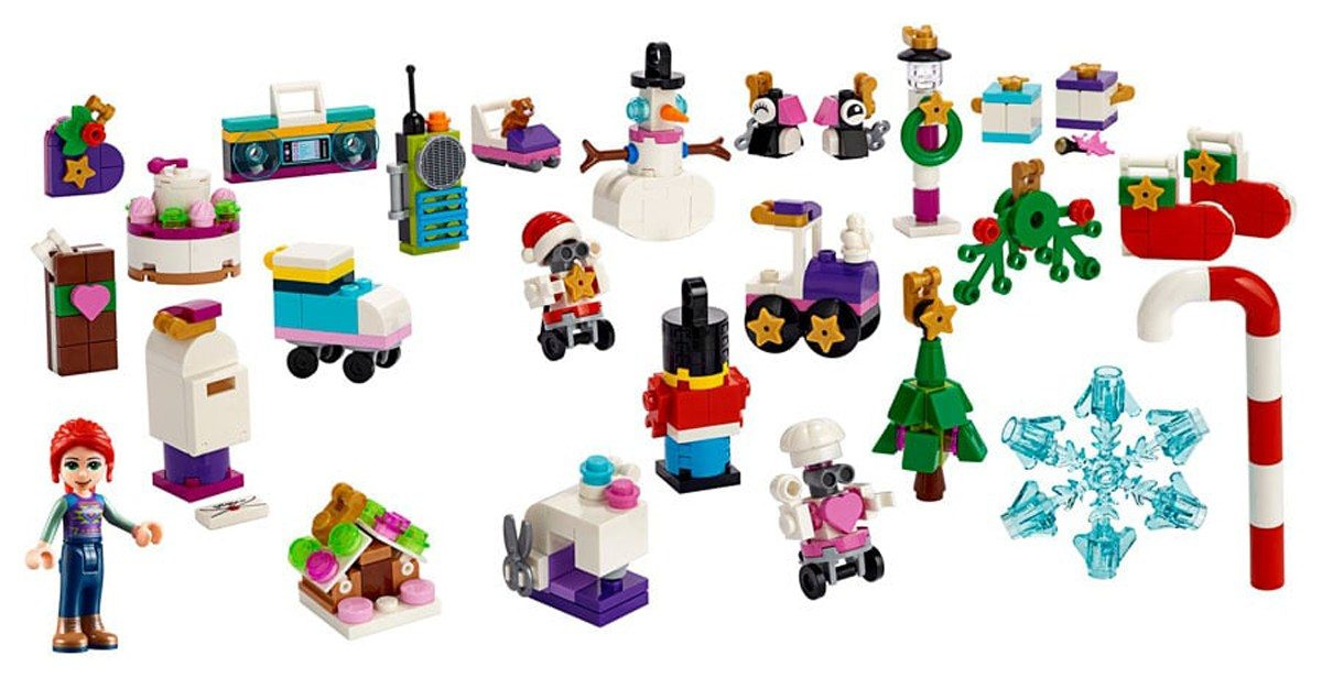 lego 39 s 2019 advent calendars will include a brand new. Black Bedroom Furniture Sets. Home Design Ideas