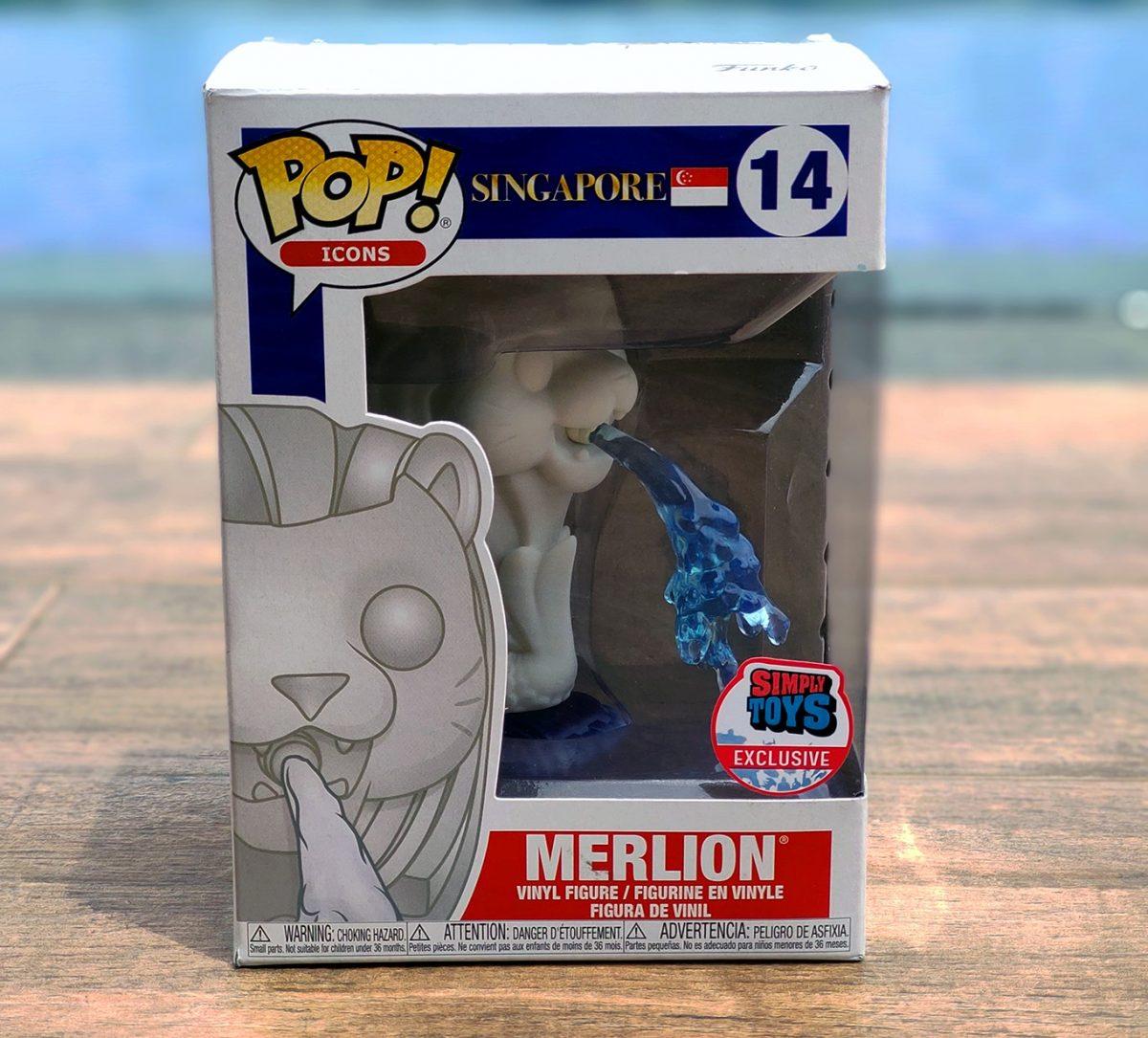 Merlion Funko 2