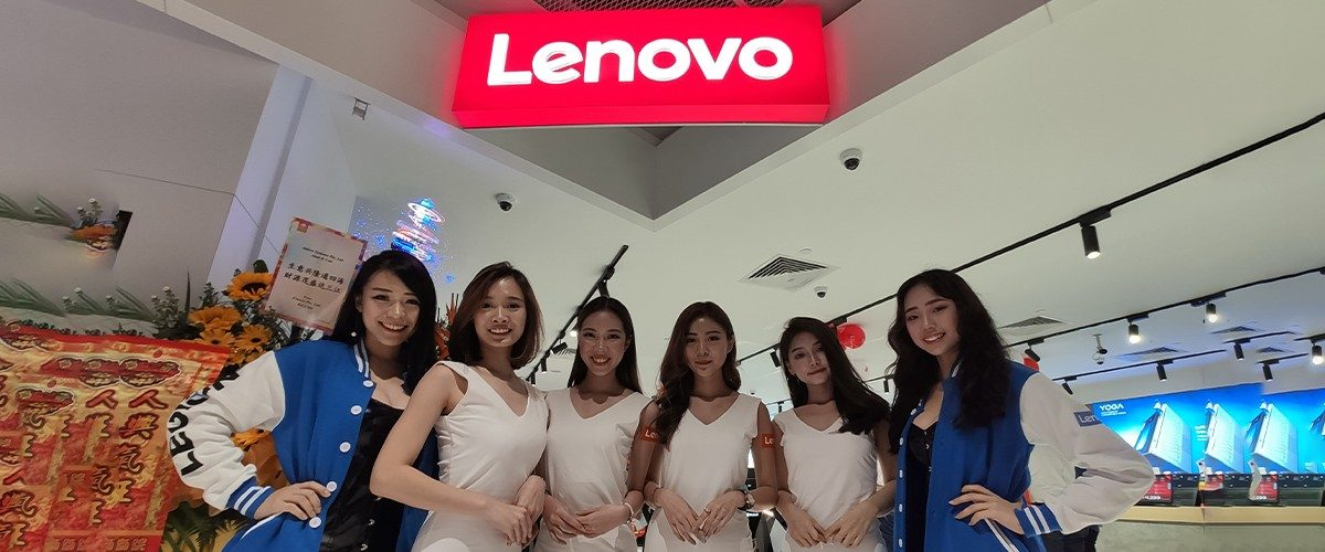 Lenovo Brings Out The Big Guns In New Flagship Store In Singapore