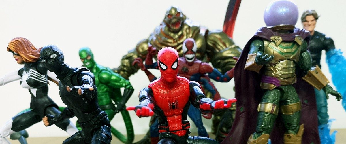 Marvel Legends Spider-Man Far From Home Figurine Hasbro