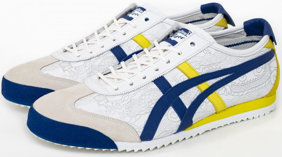 Onitsuka Tiger X Street Fighter White 1