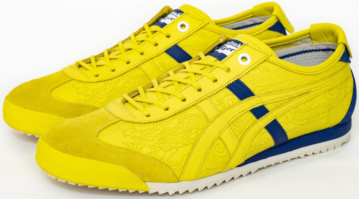 Onitsuka Tiger X Street Fighter Yellow 1