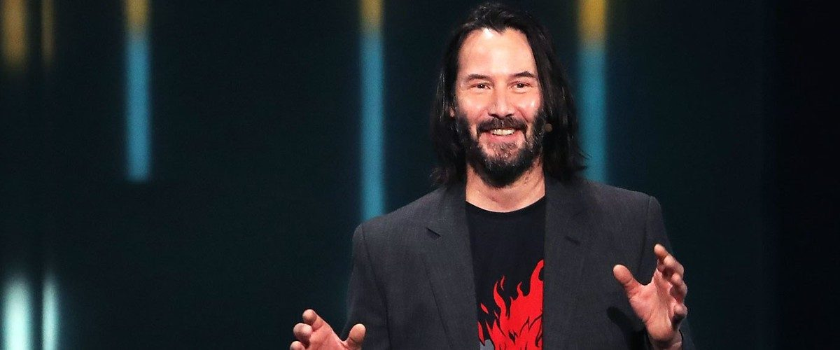 That Song That Revealed Keanu Reeves For Cyberpunk 2077 Is