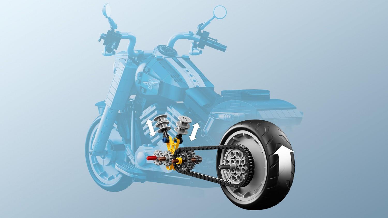 Harley Davidson: The Badass LEGO 10269 Harley Davidson Fat Boy Creator