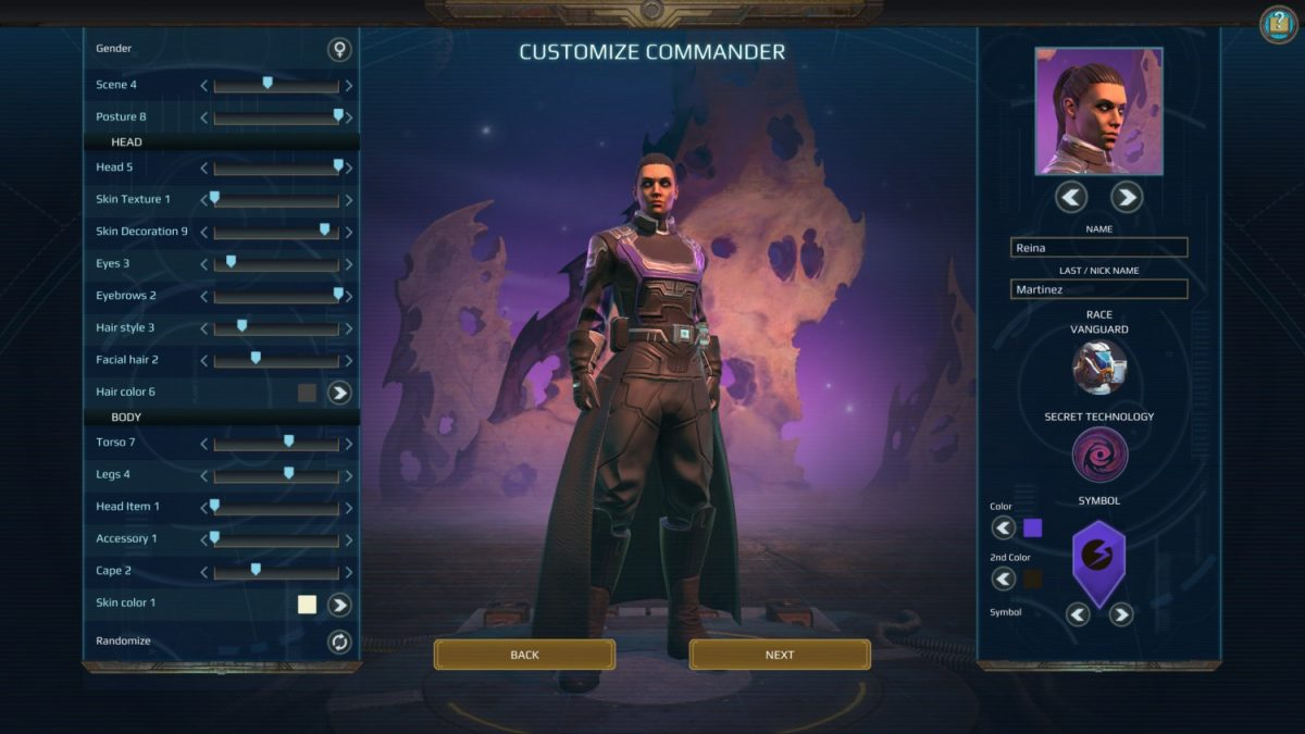 Age of Wonders: Planetfall Hero