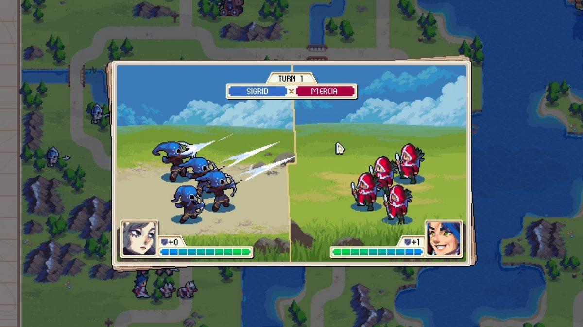 Wargroove's battle