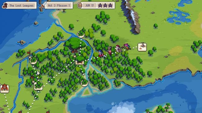 Wargroove's map