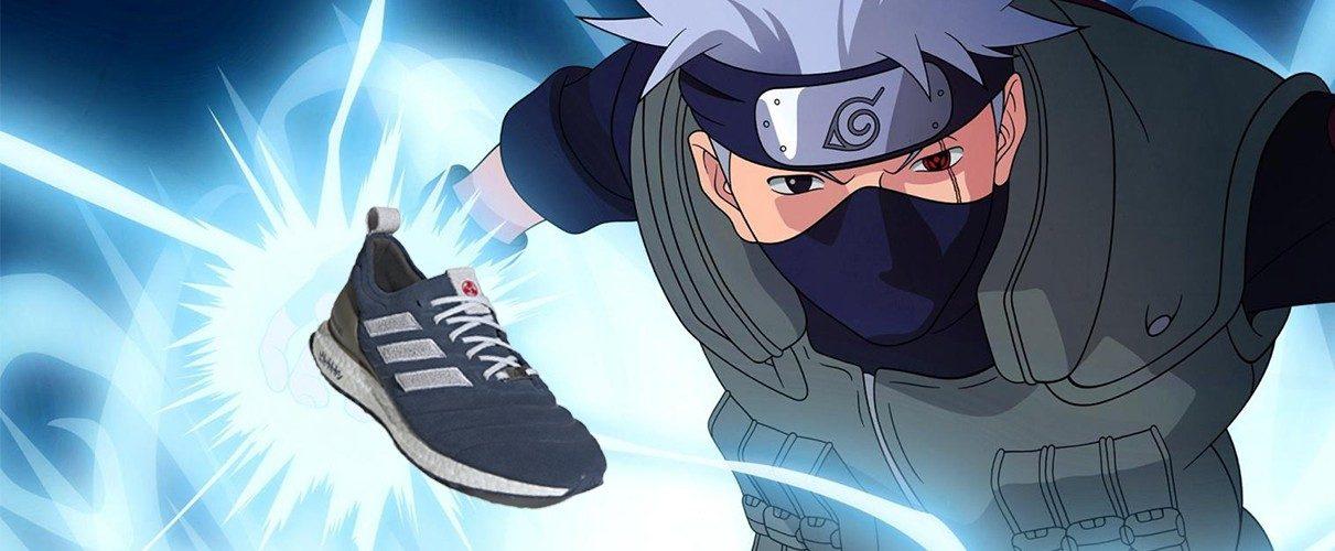 Kakashi Adidas X Naruto Shoes Emerge