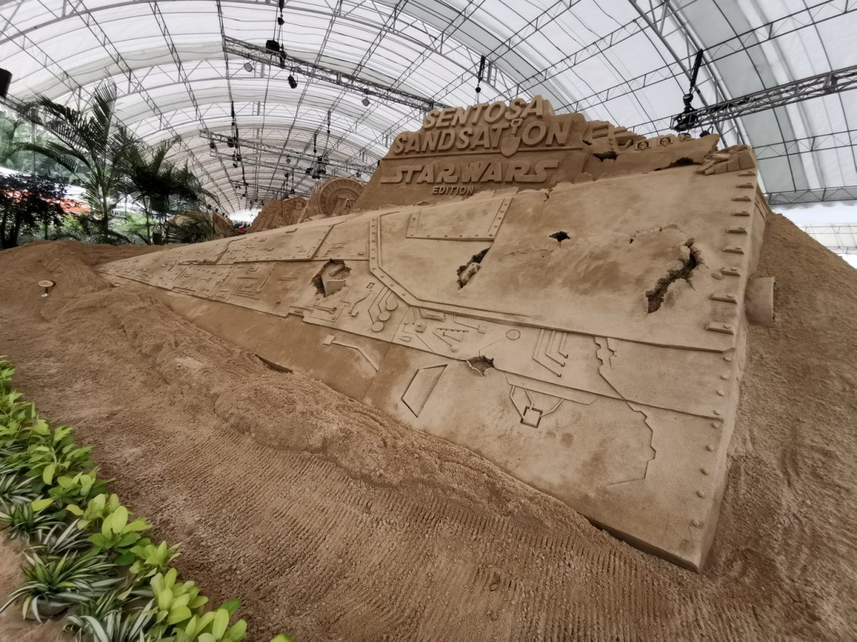 Sentosa Sandsation Strikes Back With 20 Star Wars-themed