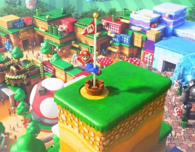 New Photos Online Gives Us A Glimpse Of Universal Studios Japan's Upcoming Super Nintendo World