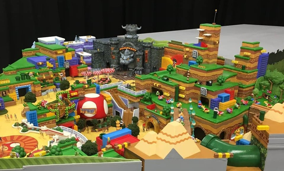 New Photos Online Gives Us A Glimpse Of Universal Studios Japan's Upcoming Super Nintendo World - 1