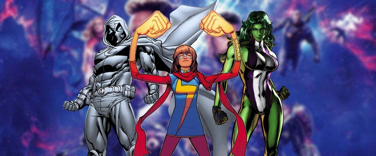 D23 Expo 2019: Ms  Marvel, Moon Knight & She-Hulk Join The