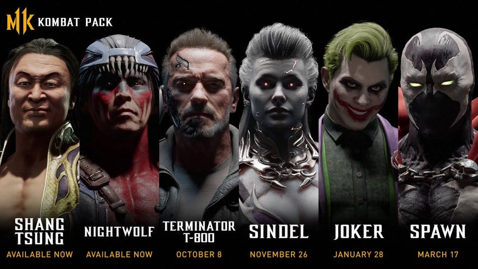 Mortal Kombat 11 DLC Characters Confirmed, Pack Includes Terminator, Joker, Spawn