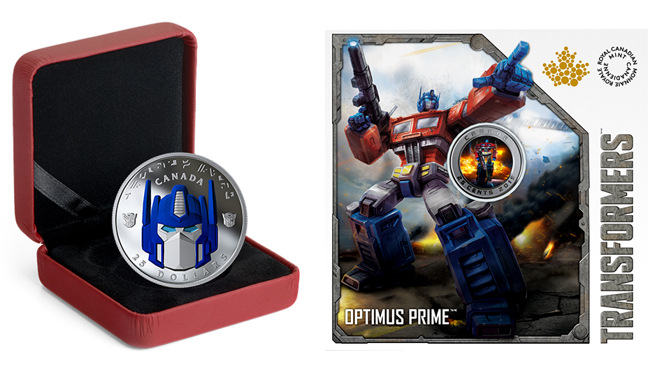Royal Canadian Mint Rolls Out Official Transformers Optimus
