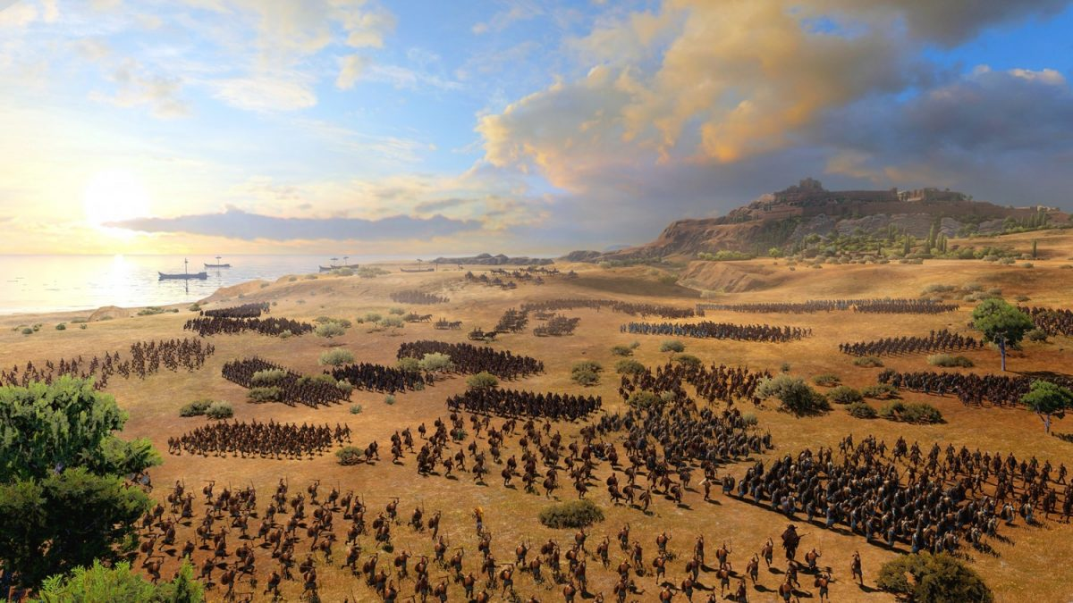A Total War Saga: Troy Bring Ancient Greek Warfare To A New Age - Battlefield