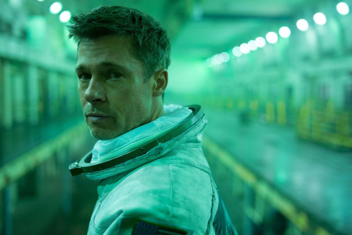Brad Pitt plays Roy McBride, veteran astronaut