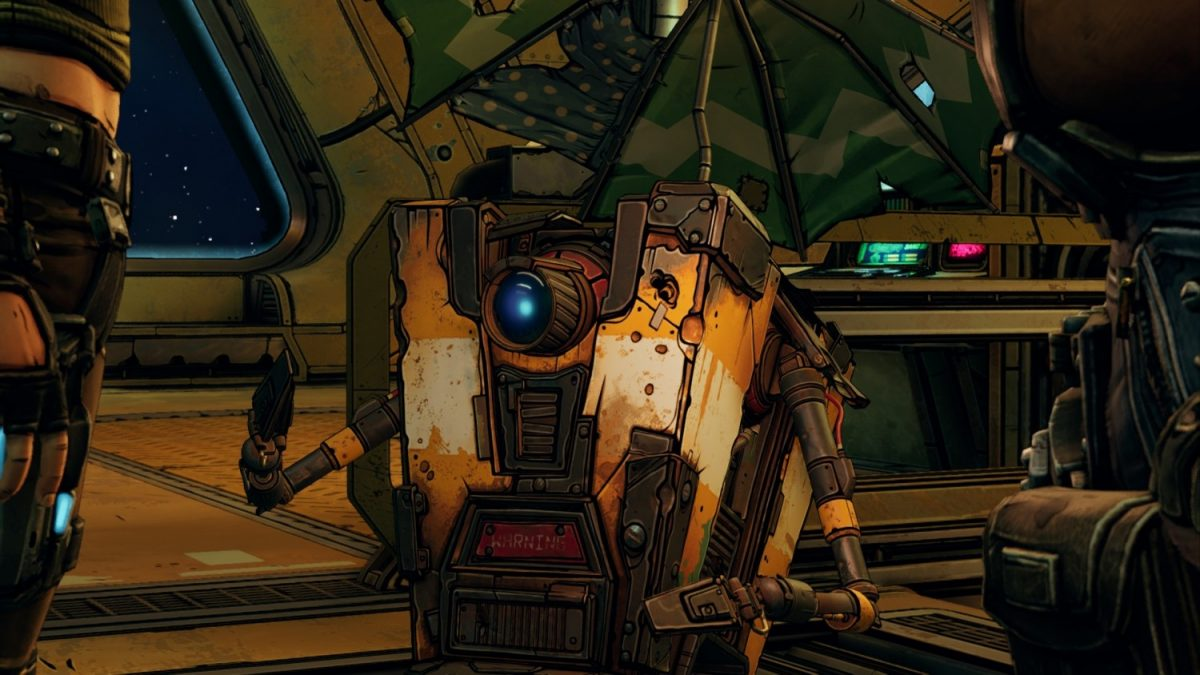 Geek Review: Borderlands 3 - CL4P-TP