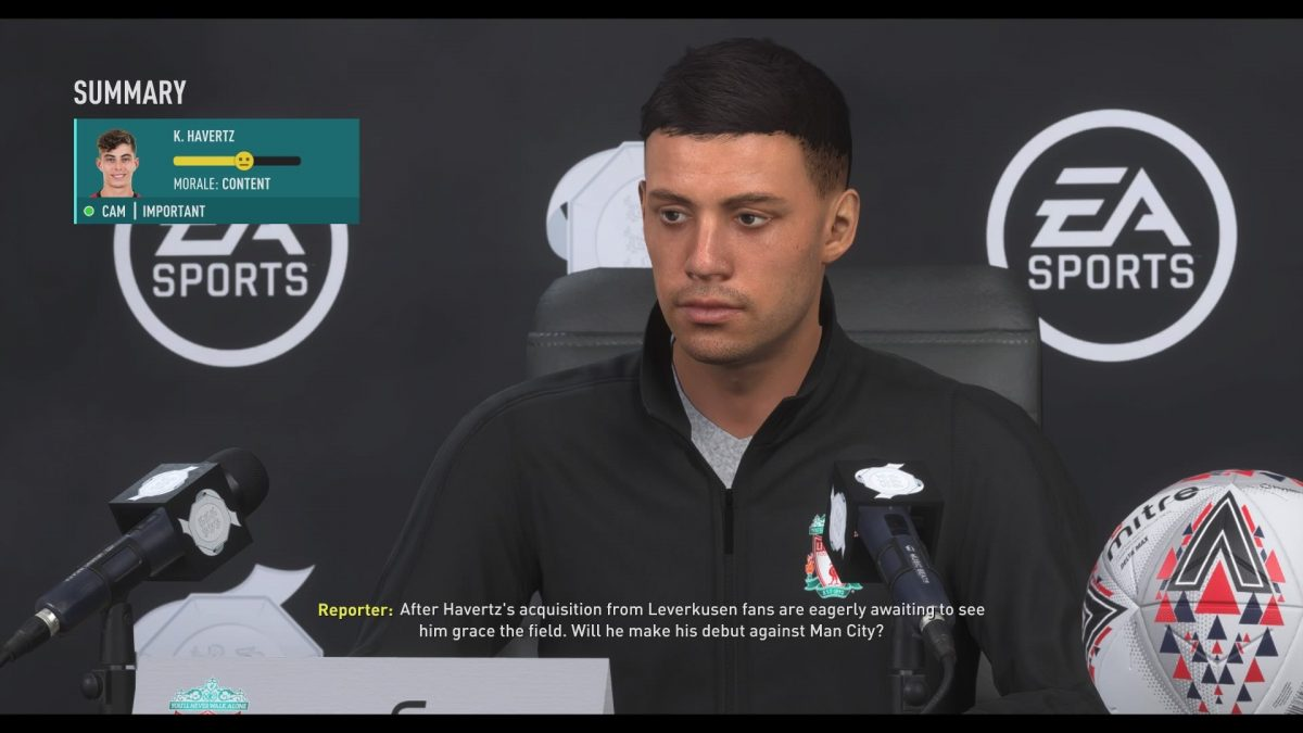 Geek Review FIFA 20 - Press Conference