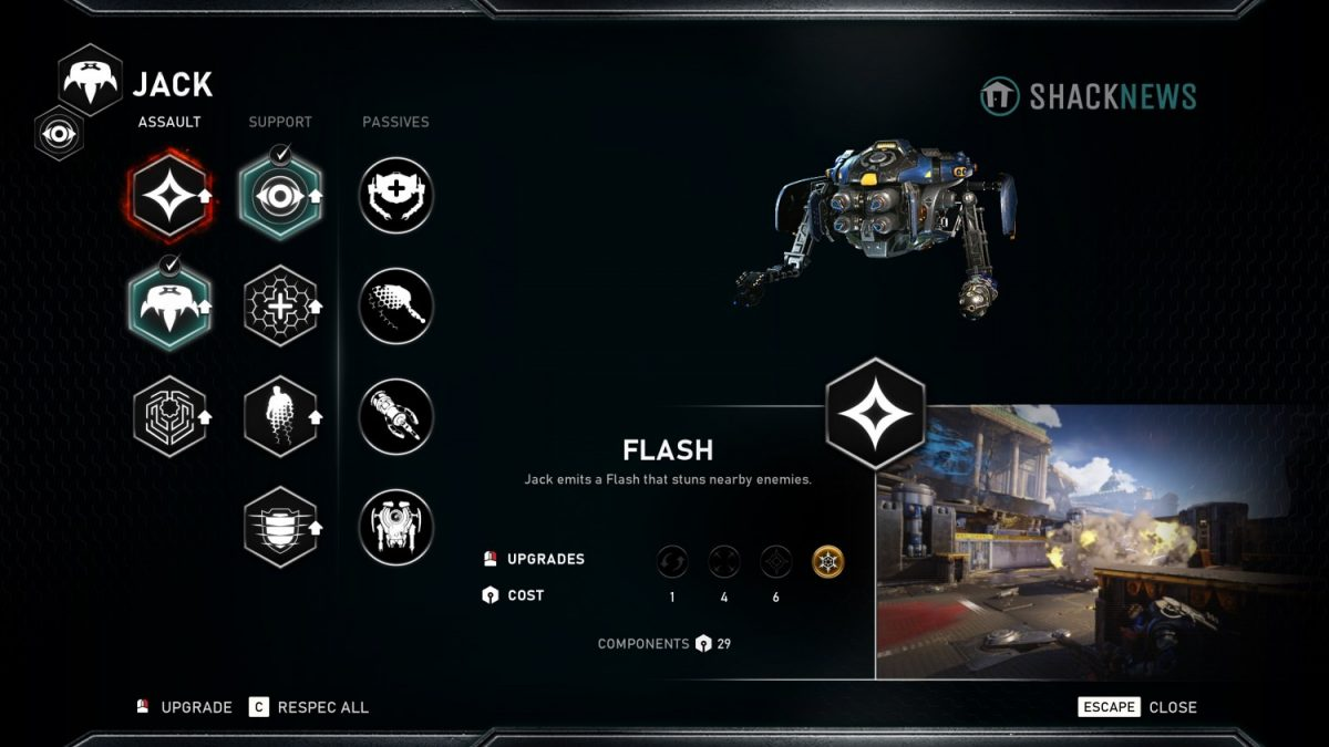 Geek Review Gears 5 - Abilities