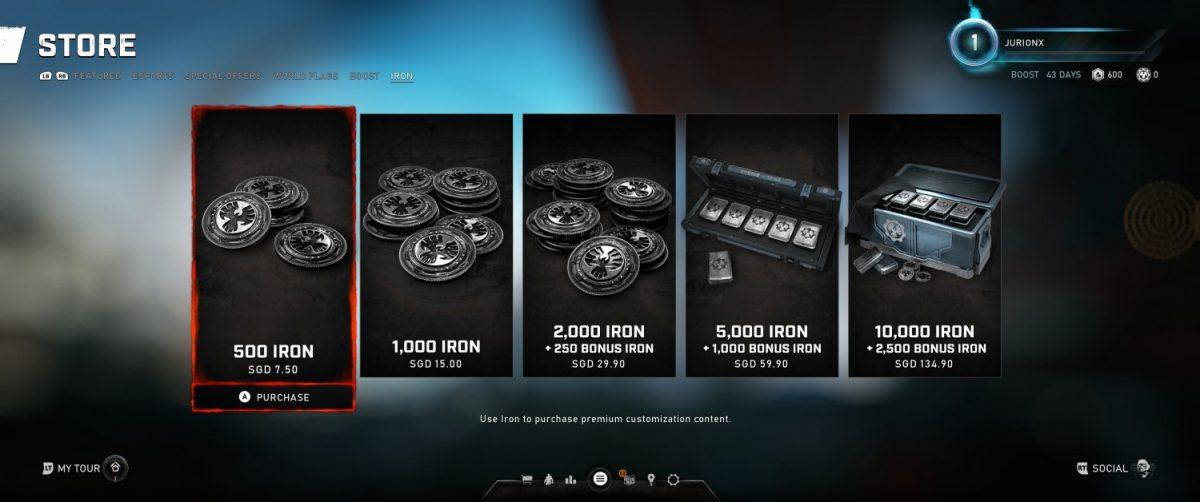 Geek Review Gears 5 - Iron