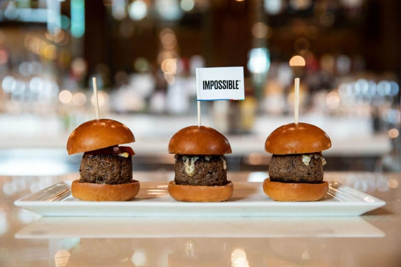 Impossible Sliders at CUT by Wolfgang Puck