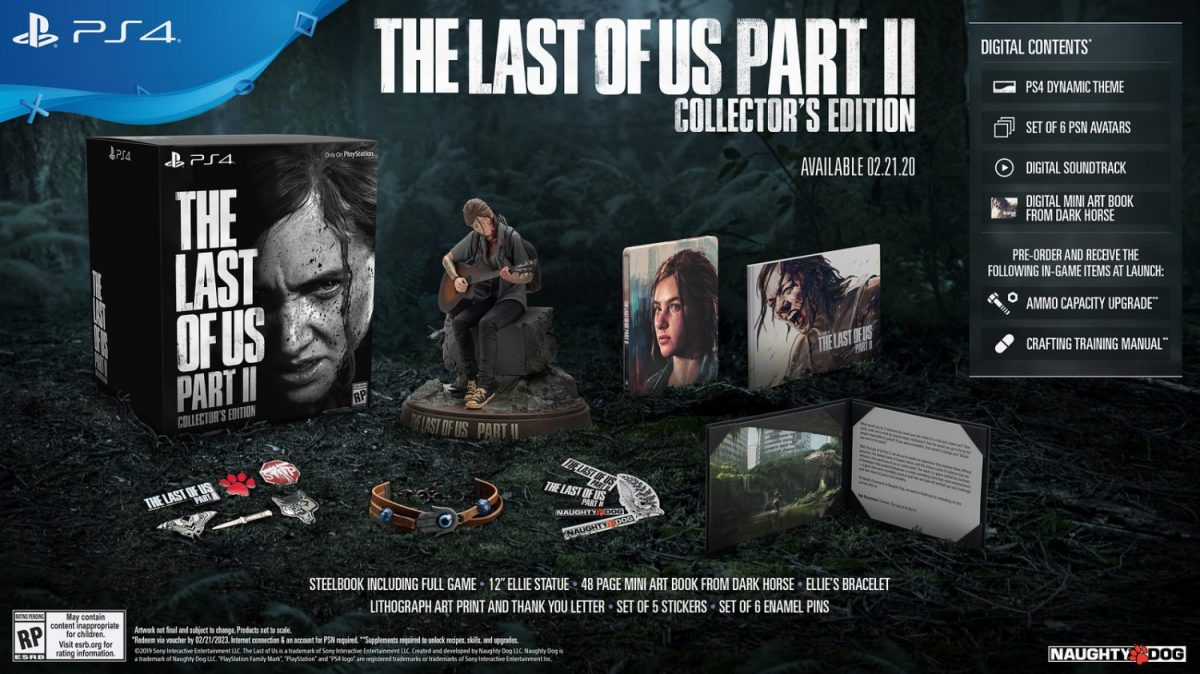 PlayStation State of Play The Last of Us Part II, Death Stranding, and More! - The Last of Us Part II Collectors' Edition