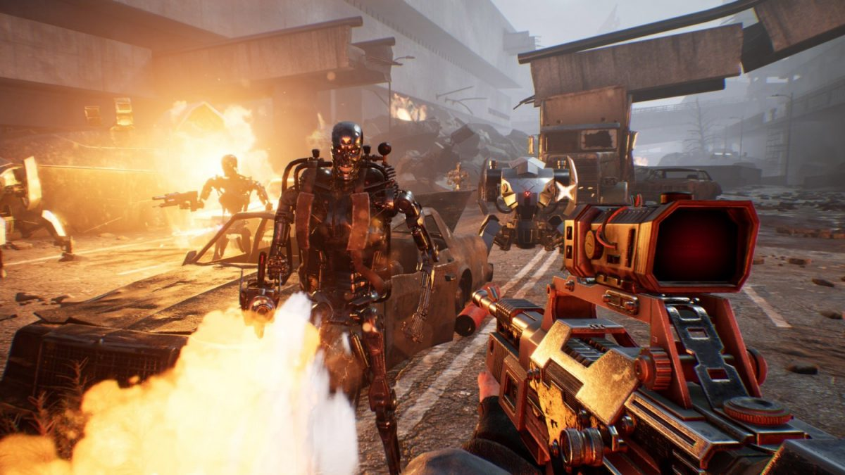 Single Player First-Person Shooter Terminator Resistance Launches for PS4 This Fall