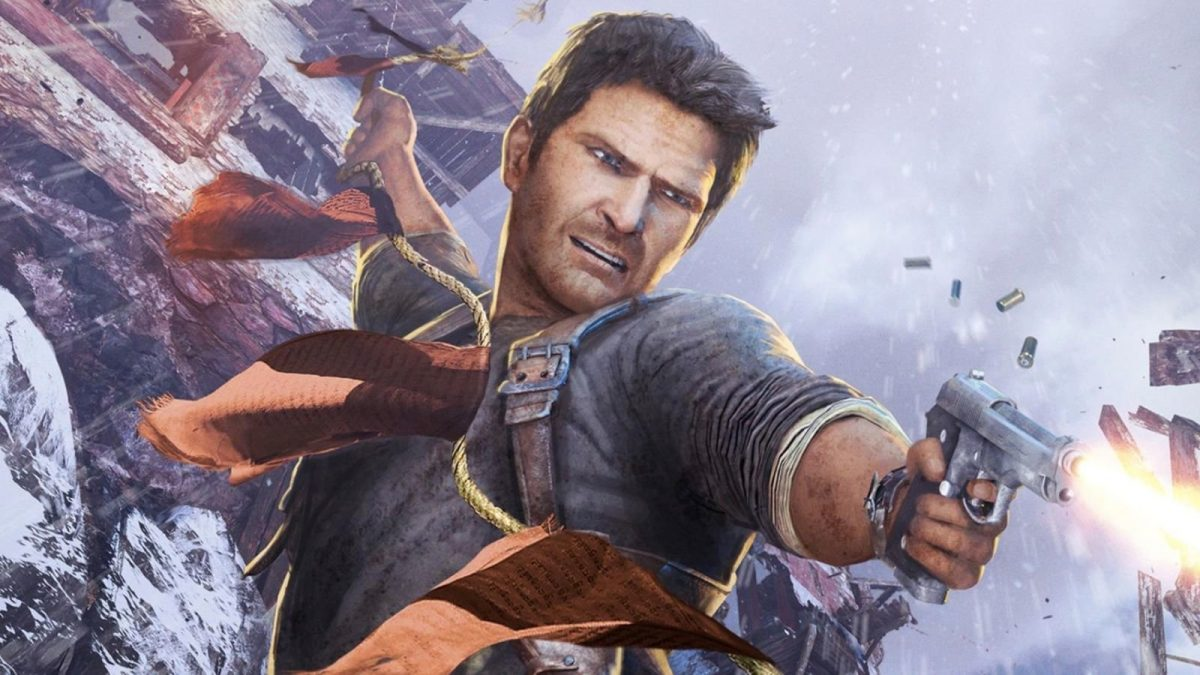 Nathan Drake played by Tom Holland in Uncharted movie
