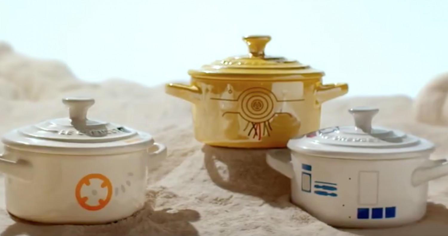 Le Creuset Announces STAR WARS Line of Cookware