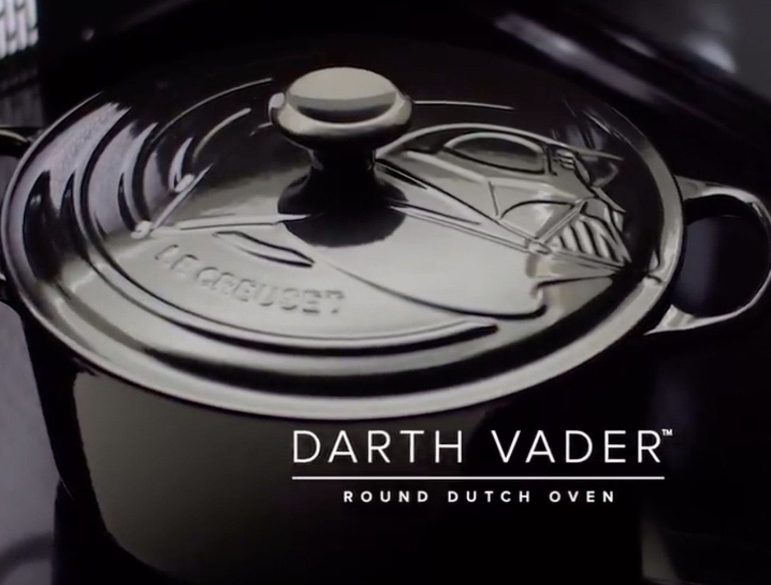 Le Creuset's Star Wars collection includes a $900 dutch oven