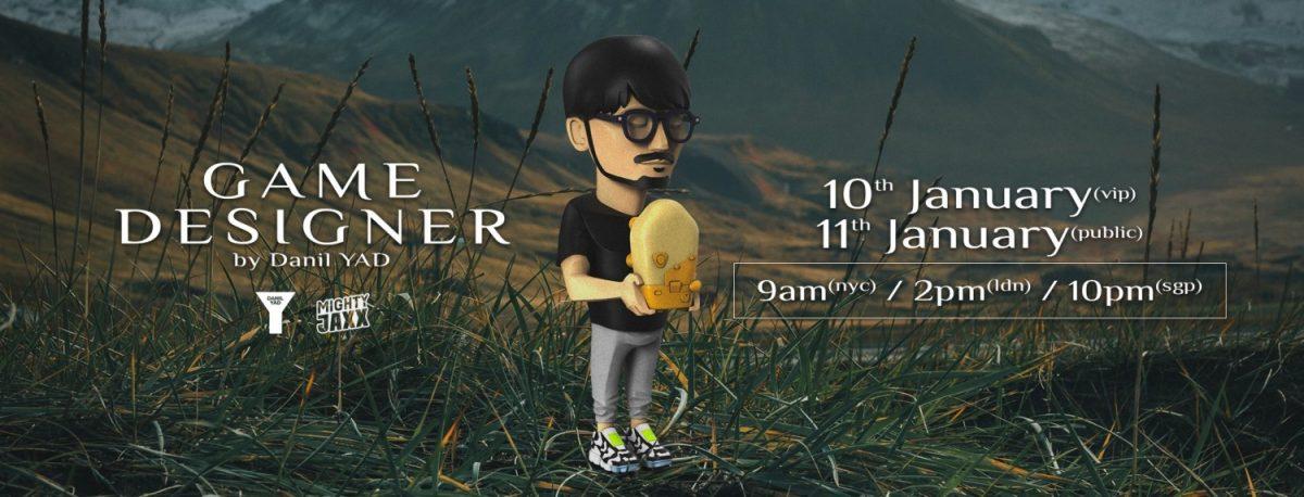 Mighty Jaxx & Danil YAD Yarmin Immortalise Hideo Kojima With Legendary Figure - Pre-order