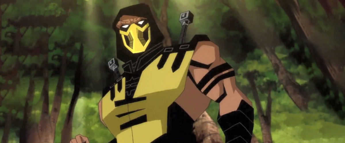 scorpion mortal kombat movie characters