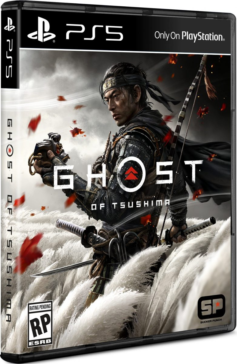 New Ghost Of Tsushima Box Art Suggests Playstation 5 May Return To Black Game Boxes Geek Culture
